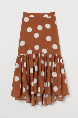 H&M Long Skirt - Beige