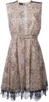 Just Cavalli animal print dress - women - Cotton/Polyamide - 38