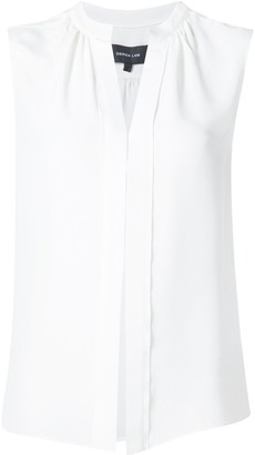 Derek Lam Kara sleeveless silk blouse