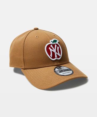 New Era 9Forty NY Yankees Snapback Cap Wheat/Apple