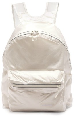 Eastpak Taped-seam Pack-away Ripstop Backpack - Mens - White