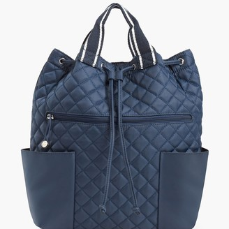 Talbots Quilted Nylon Backpack