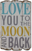 3r Studio Love You To The Moon And Back Wall Decor