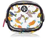Tory Burch Fish Round Cosmetics Case