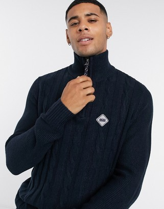 Jack and Jones Originals half zip sweater