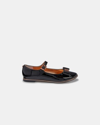 Ted Baker Patent Bow Detail Shoes