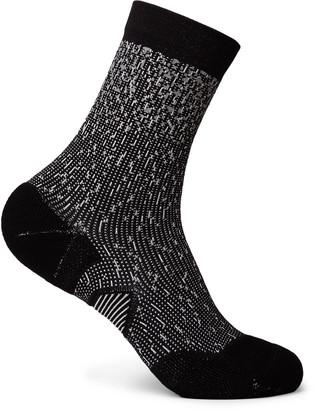 Lululemon T.H.E. Crew Stretch-Knit Socks - Men - Black