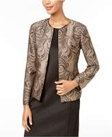 Kasper Brocade Flyaway Jacket, Regular and Petite