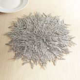 Pier 1 Imports Glitter Snowflake Placemat