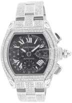 Cartier Roadster Extra Large Chronograph with Black Dial