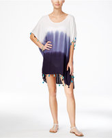 Raviya Dip-Dye Ombré Tunic Cover-Up