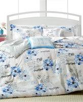 enVogue Floral Postcard 5-Pc. Queen Comforter Set