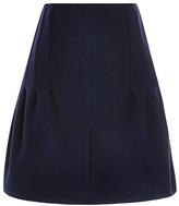 Nina Ricci Bonded Wool Skirt