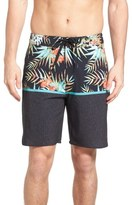 Rip Curl 'Mirage Split' Scalloped Board Shorts