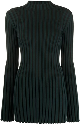 Kenzo Ribbed High Neck Jumper