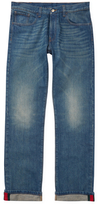 Gucci Faded Straight Leg Selvedge Jeans