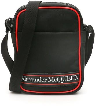 Alexander McQueen Logo Mini Messenger Bag