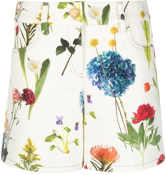 Boutique Moschino Floral Print Shorts