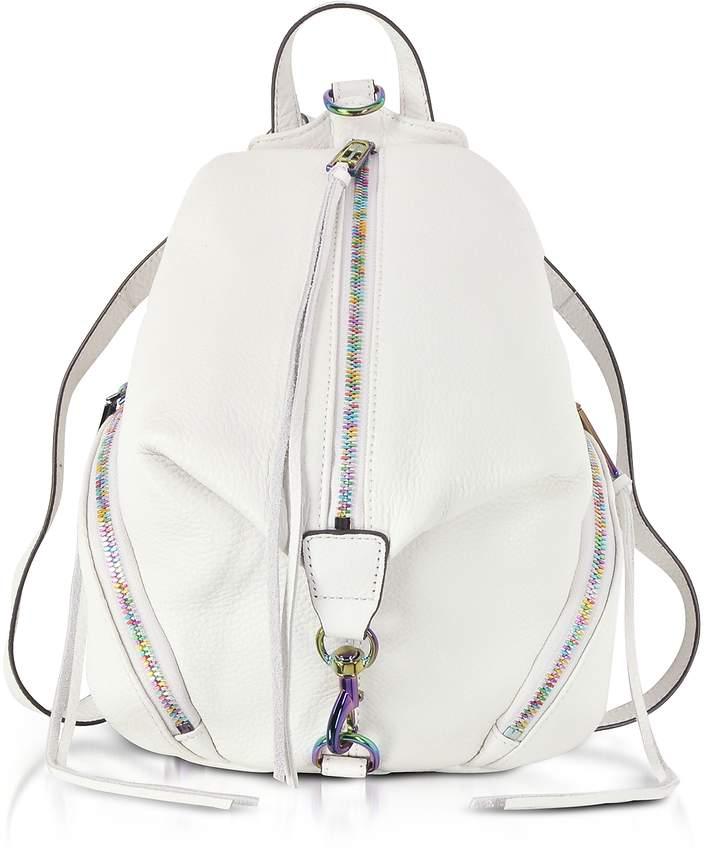 Rebecca Minkoff Bianco Leather Medium Julian Backpack