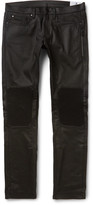 Belstaff Blackrod Slim-Fit Coated Stretch-Denim Biker Jeans