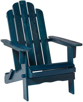 Hewson Outdoor Patio Acacia Wood Adirondack Chair