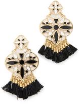 Kate Spade Moroccan Tile Chandelier Earrings