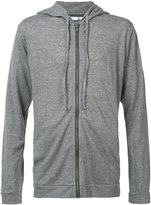 Onia James zip up hoodie - men - Linen/Flax/Polyester - S