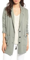 Women's Treasure & Bond Raw Edge Knit Blazer