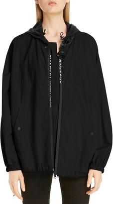 Givenchy Hooded Logo Windbreaker