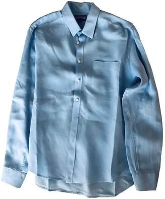 Vilebrequin Blue Linen Shirts