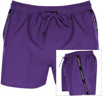 Calvin Klein Swim Shorts Purple