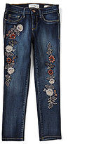 Jessica Simpson Big Girls 7-16 Kiss Me Embroidered Jeans