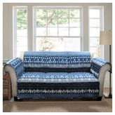 Nobrand No Brand Lambert Tie Dye Furniture Protectors Navy Sofa