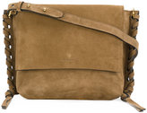 Isabel Marant Asli shoulder bag - women - Cotton/Calf Suede - One Size