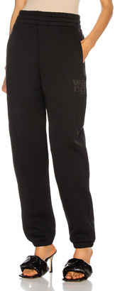 Alexander Wang Foundation Terry Classic Sweatpant in Black | FWRD