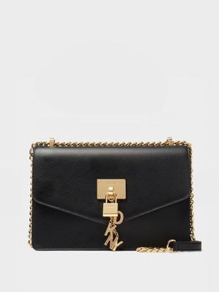 DKNY Elissa Pebbled Leather Shoulder Bag