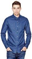 GUESS Camron Long-Sleeve Printed Slim-Fit Shirt
