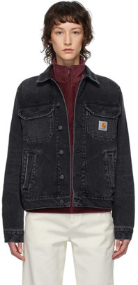 Carhartt Work In Progress Black Faded Stetson Jacket