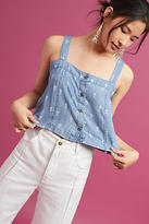 Rails Chambray Button Front Top