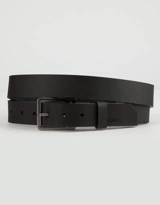 Arcade Padre Black Mens Leather Belt