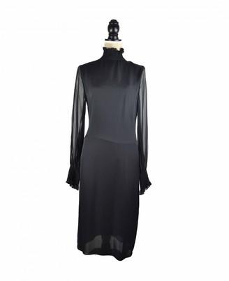 Tamara Mellon Black Silk Dress for Women