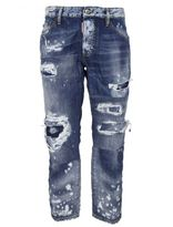 DSQUARED2 Ripped Boyfriend Jeans
