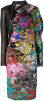 A.F.Vandevorst asymmetric style print dress