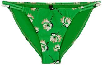 Vix Paula Hermanny V I X Paula Hermanny Petals Twine Floral-print Bikini Briefs