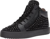 Giuseppe Zanotti Men's May London Mid Top Studded Sneaker Oxford