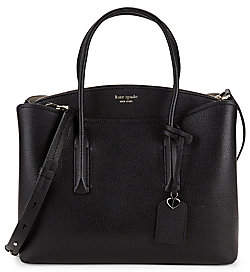 Kate Spade Women's Large Margaux Leather Satchel