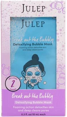 Julep Break Out The Bubbly Detoxifying Bubble Face Masks