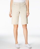 Charter Club Twill Hardware-Trim Shorts, Only at Macy's