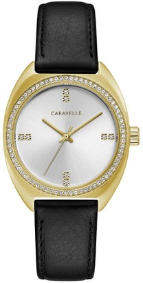 Bulova Caravelle by Women's Leather Strap Watch