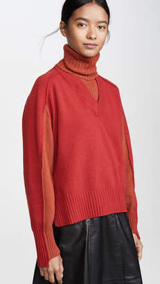 Cédric Charlier Red Wool Sweater
